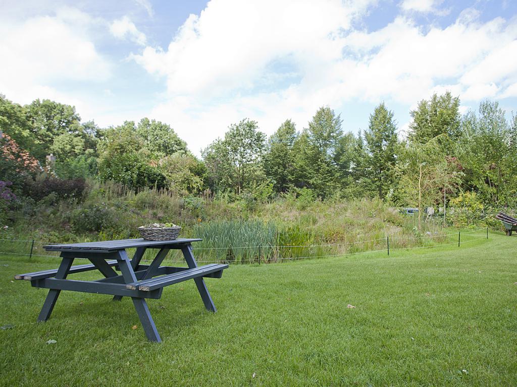 De BOS trainingslocatie in Ermelo heeft een inspirerende tuin.