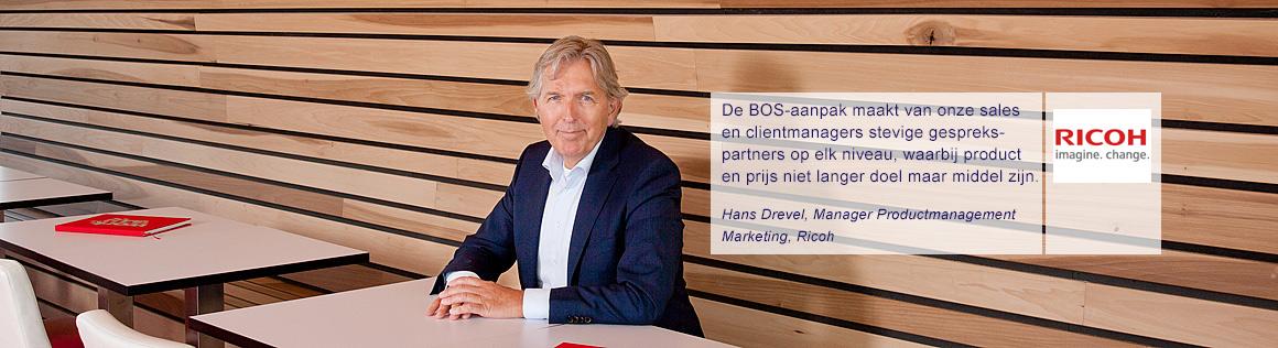 Hans Drevel van Ricoh over BOS
