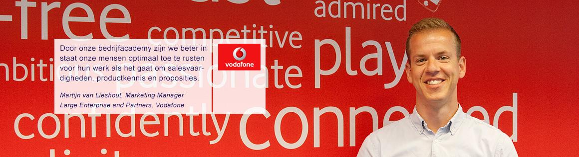 Martijn van Lieshout Vodafone over BOS