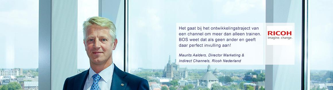 Maurits Aalders van Ricoh over BOS