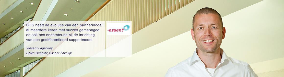 Vincent Lagerweij van Essent over BOS