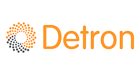 Detron logo BOS website